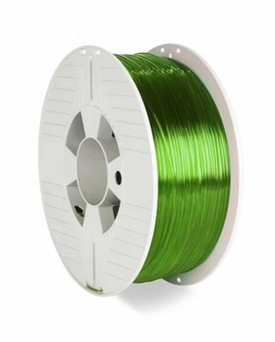 3D filament Verbatim, PET-G, 1,75 mm, 1000 g, 55057,transp.green