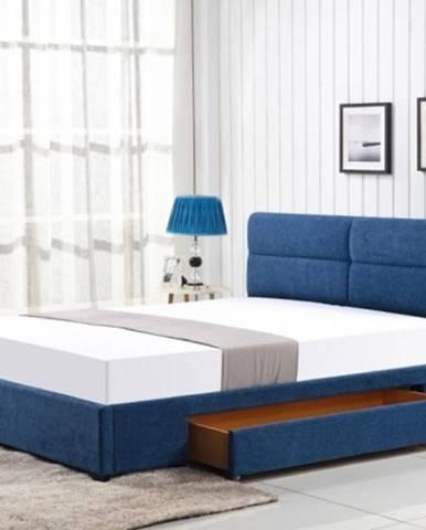 Čalúnená posteľ Hudson 160x200, vrátane roštu a ÚP, bez matraca