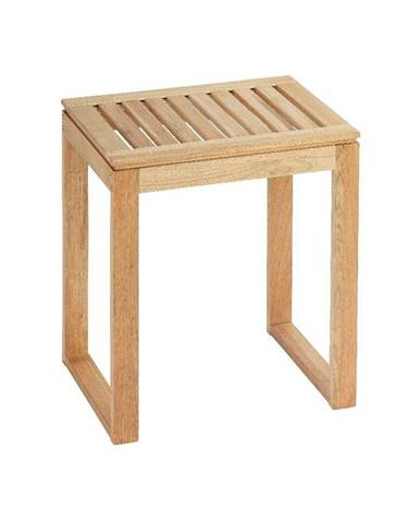 Kúpeľňová stolička z orechového dreva Wenko Norway