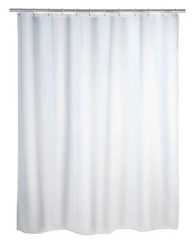Prateľný sprchový záves Wenko White, 120 x 200 cm