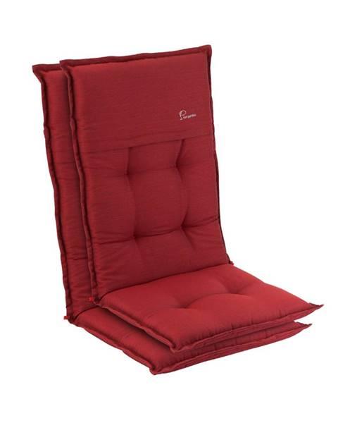 Blumfeldt Blumfeldt Coburg, čalúnenie, čalúnenie na kreslo, vysoké operadlo, záhradná stolička, polyester, 53x117x9cm