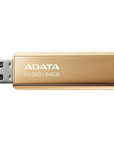 USB flash disk Adata UV260 64GB zlatý