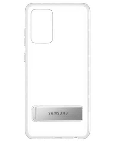 Kryt na mobil Samsung Clear Standing na Galaxy A72 priehľadný