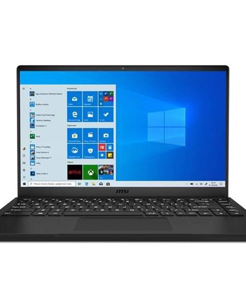 MSI Notebook MSI Modern 14 B4MW-076CZ čierny