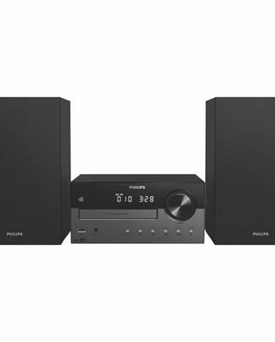 Mikro HiFi systém Philips TAM4505 čierny/strieborn