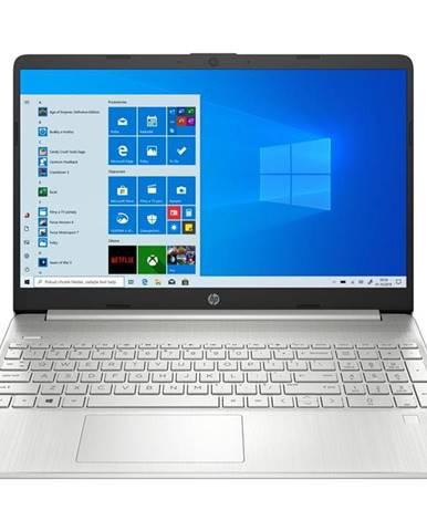 Notebook HP 15s-fq1011nc strieborný