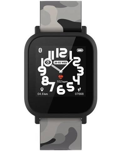 Inteligentné hodinky Canyon My Dino KW-33 - dětské čierny