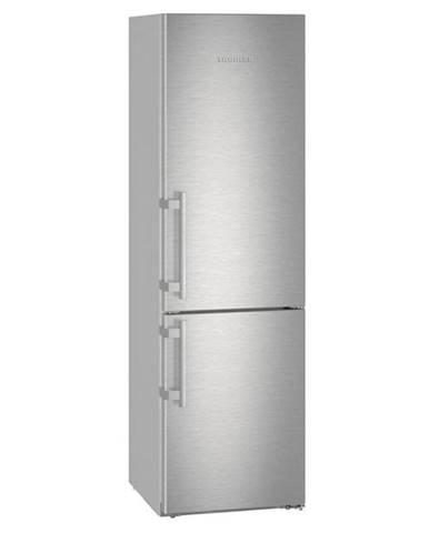 Kombinácia chladničky s mrazničkou Liebherr CBef 4805 nerez
