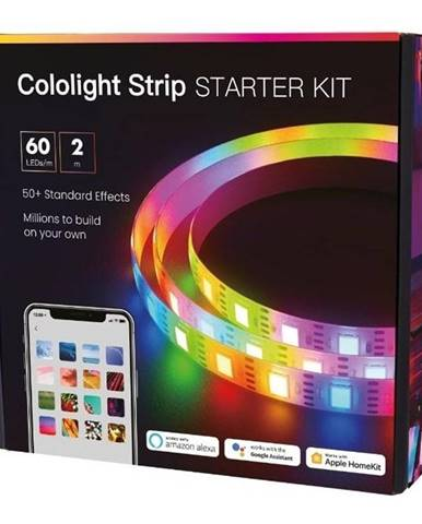 LED pásik Cololight Strip Starter Kit, Smart, 60 LED/m, 2 m