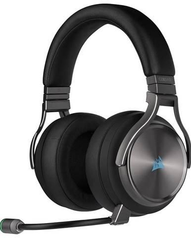 Headset  Corsair Virtuoso RGB Wireless SE High-Fidelity sivý