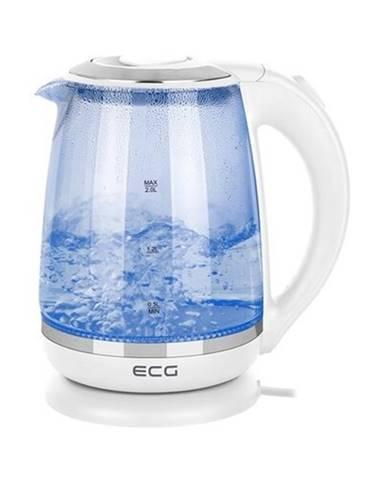 Rychlovarná konvice ECG RK 2020 White Glass - bílá