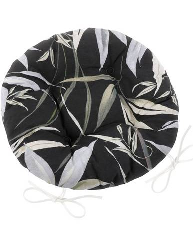 Bellatex Sedák Ema okrúhly prešívaný Bambus, 40 cm