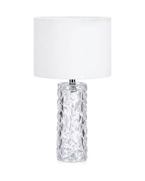Markslöjd Biela stolová lampa Markslöjd Madame
