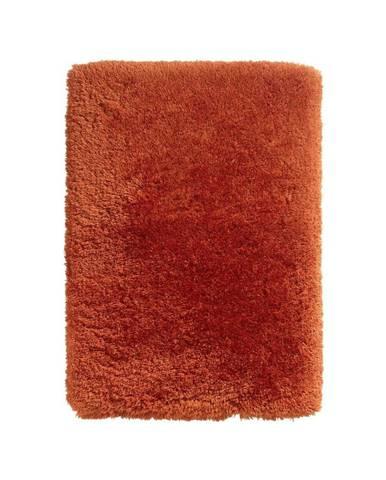 Červený ručne tuftovaný koberec Think Rugs Polar PL Terra, 80×150 cm