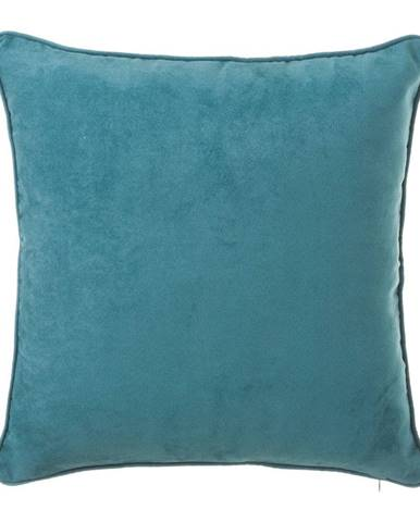 Modrý vankúš Unimasa Loving, 45×45 cm