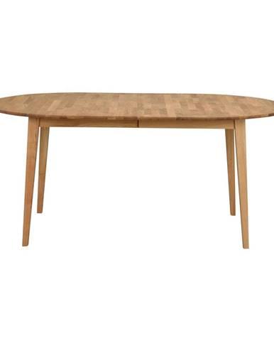 Oválny dubový rozkladací jedálenský stôl Rowico Mimi, 170 x 105 cm