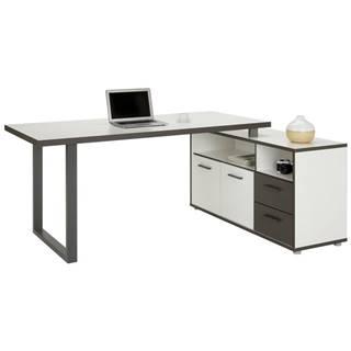 Rohový Písací Stôl Keflavik -Exklusiv-