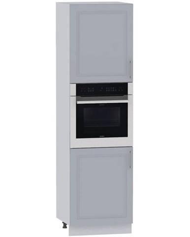 Kuchynská skrinka Natalia D60PK 2133 PL sivá mat