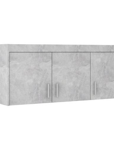 Nadstavec na skriňu Elena 3D beton