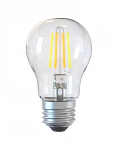 SMART WiFi žiarovka Tellur Filament E27, 6 W, číra, teplá biela