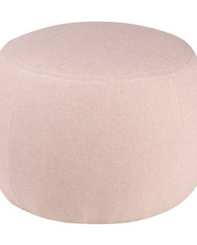 Ružový puf sømcasa Jason, ⌀ 50 cm