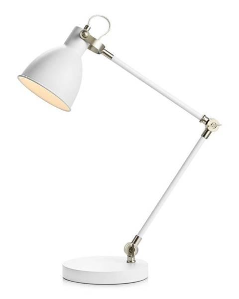 Markslöjd Biela stolová lampa Markslöjd HoTable White