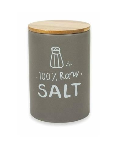 Porcelánová dóza s vekom na soľ z porcelánu Villa d&