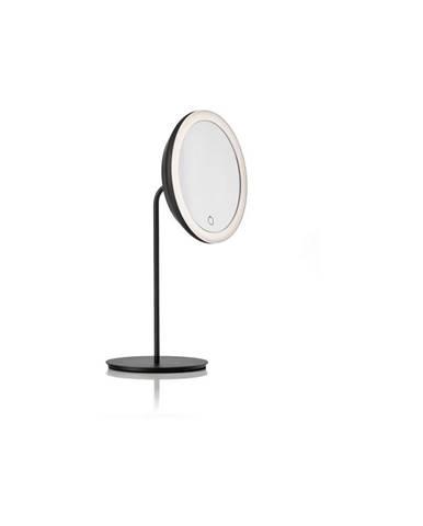 Čierne kozmetické zrkadlo Zone Eve, ø 18 cm