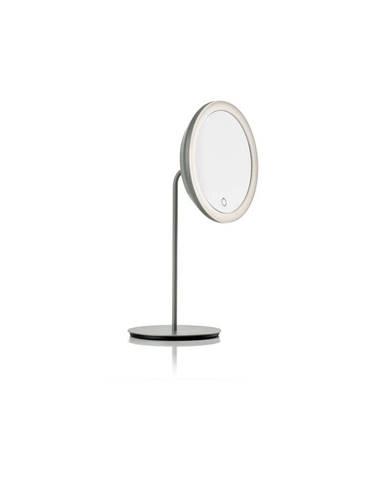 Sivé kozmetické zrkadlo Zone Eve, ø 18 cm
