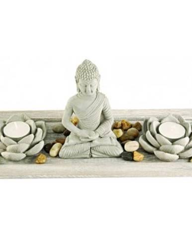 Dekoračný set Buddha + sviečky%