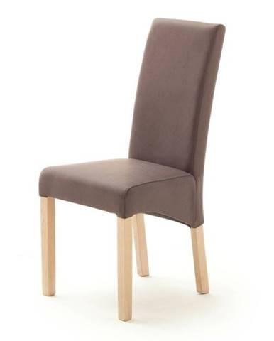 Jedálenská stolička FOXI prírodný dub/hnedá