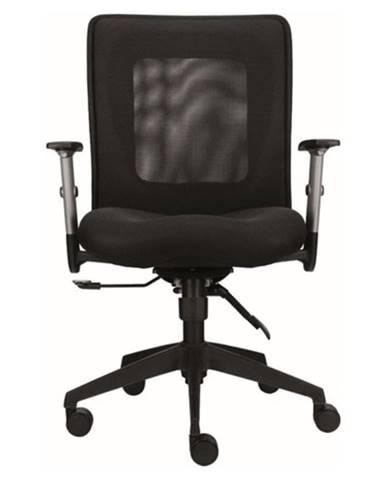 Kancelárska stolička ASHTON čierna