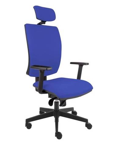 Kancelárska stolička LAUREN modrá