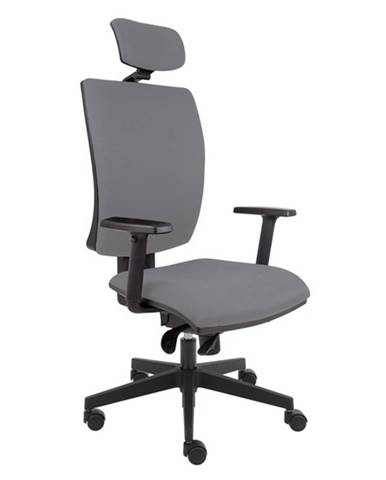 Kancelárska stolička LAUREN sivá