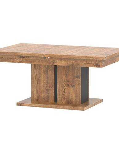 Konferenčný stolík RIAN dub/čierna