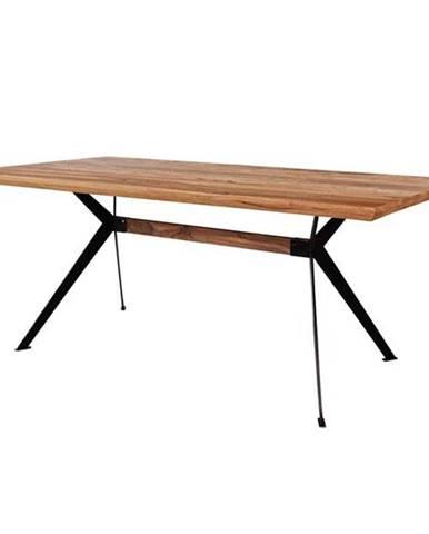 Jedálenský stôl YOGA palisander/čierna