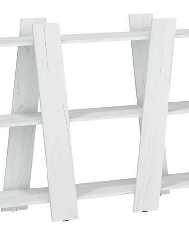 Regál Via 130 Craft Biely
