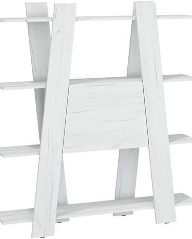 Regál Via 140-2D Craft Biely