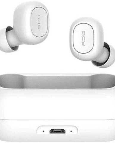 True Wireless slúchadlá QCY - T1C, biele