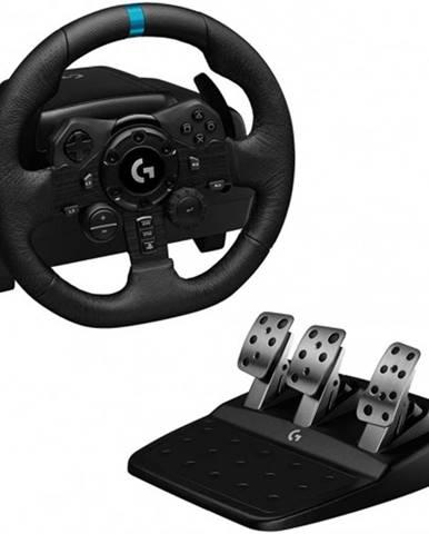 Pretekársky volant vrátane pedálov Logitech G923 pre PS4
