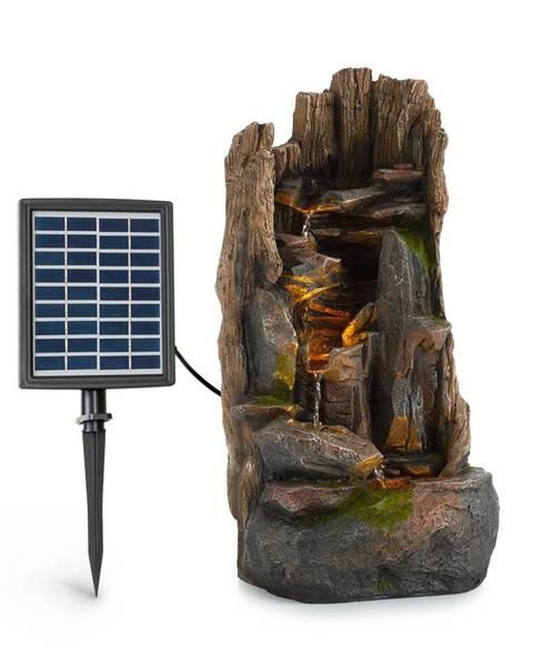 Blumfeldt Blumfeldt Magic Tree, solárna fontána, LED osvetlenie, polyresin