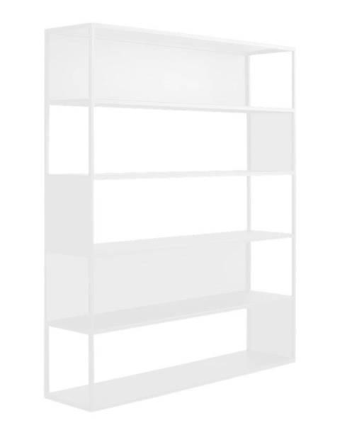 Custom Form Biela kovová knižnica Custom Form Hyller, výška 180 cm