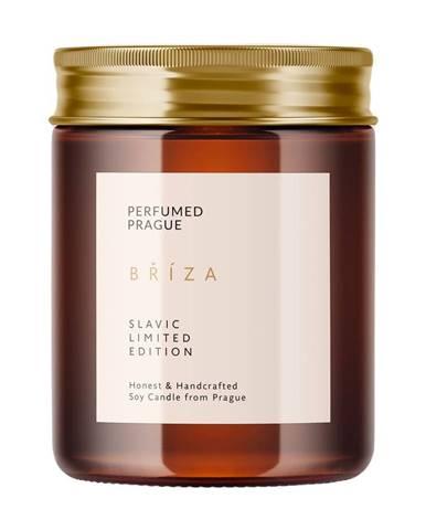 Sviečka zo sójového vosku s vôňou brezy Perfumed Prague, doba horenia 40 h