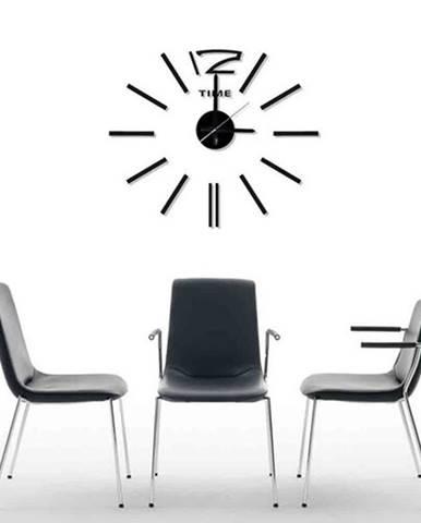 StarDeco Nástenné hodiny čierna, pr. 60 cm