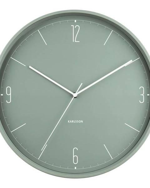 Karlsson Karlsson 5735GR dizajnové nástenné hodiny, pr. 40 cm