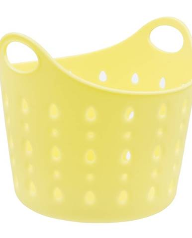 Plastový kôš Cubal Libra, 12 x 11 x 11 cm, žlutá