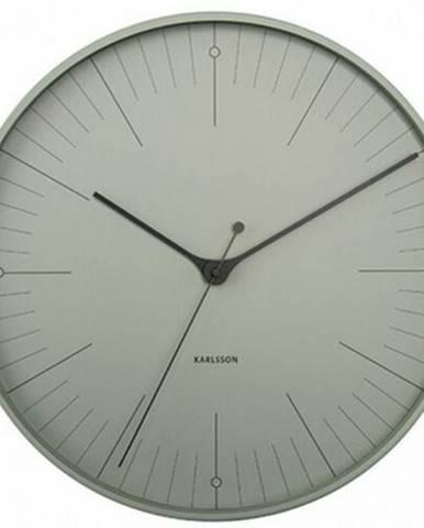 Karlsson 5769GR dizajnové nástenné hodiny, pr. 40 cm