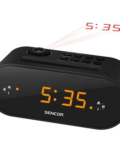 SENCOR SRC 3100 B rádiobudík s projekciou 35048702