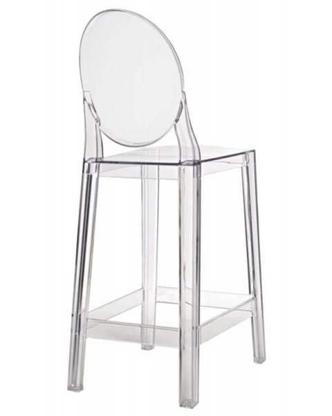 ArtD ArtD Barová stolička Viki transparentná