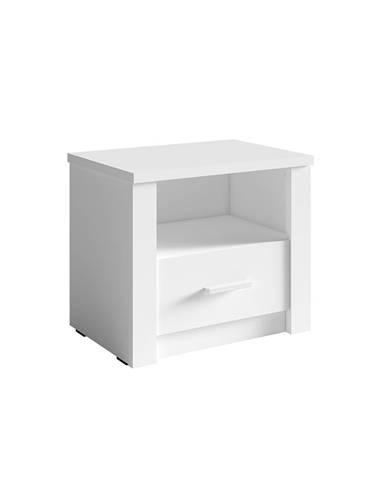 Nočný stolík 2ks biela RAMIAK